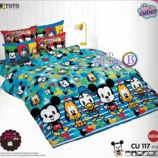 ชุดเครื่องนอนคิวตี้หมีพูห์ Disney Cuties Pooh Bear TOTO ผ้าปูที่นอน ผ้านวม ลิขสิทธิ์แท้โตโต้ CU117