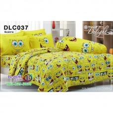 ชุดเครื่องนอนลาย SpongeBob สปอนจ์บ๊อบ ผ้าปูที่นอน ผ้านวมทิวลิป DLC037