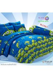 ชุดเครื่องนอนลาย Toy Story ทอยสตอรี่ ผ้าปูที่นอน ผ้านวมทิวลิป DLC067