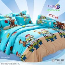 ชุดเครื่องนอนลาย Toy Story ทอยสตอรี่ ผ้าปูที่นอน ผ้านวมทิวลิป DLC068