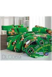 ชุดเครื่องนอนลาย BEN10 เบ็นเท็น ผ้าปูที่นอน ผ้านวมทิวลิป DLC069
