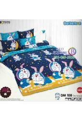 ชุดเครื่องนอนโดราเอมอน Doraemon TOTO ผ้าปูที่นอน ผ้านวม ลิขสิทธิ์แท้โตโต้ DM108