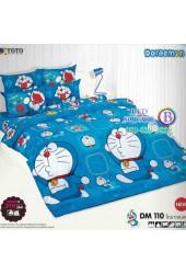 ชุดเครื่องนอนโดราเอมอน Doraemon TOTO ผ้าปูที่นอน ผ้านวม ลิขสิทธิ์แท้โตโต้ DM110