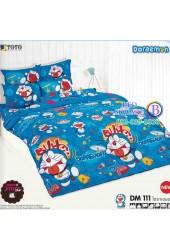 ชุดเครื่องนอนโดราเอมอน Doraemon TOTO ผ้าปูที่นอน ผ้านวม ลิขสิทธิ์แท้โตโต้ DM111