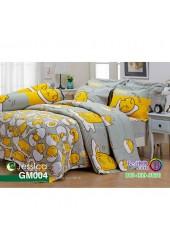 ชุดเครื่องนอนลายไข่ขี้เกียจ Gudetama สีเทาเหลือง Jessica ผ้าปูที่นอน ผ้านวมเจสสิก้า GM004