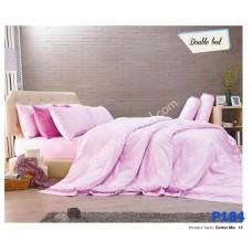 ชุดเครื่องนอนพิมพ์ลาย โทนชมพู Premier Satin ผ้าปูที่นอน ผ้านวมพรีเมียร์ ซาติน P184