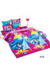 ชุดเครื่องนอนเจ้าหญิงดิสนีย์ Disney Princess TOTO ผ้าปูที่นอน ผ้านวม ลิขสิทธิ์แท้โตโต้ PC56