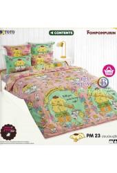 ชุดเครื่องนอนปอมปอมปูริน Pom Pom Purin TOTO ผ้าปูที่นอน ผ้านวม ลิขสิทธิ์แท้โตโต้ PM23
