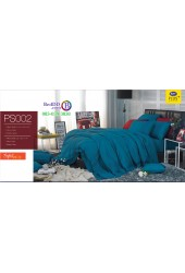 ชุดเครื่องนอน Satin Plus ผ้าปูที่นอน ผ้านวมซาตินพลัส PS002 สีเขียว