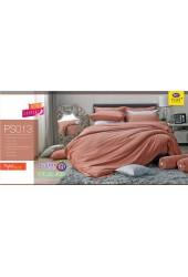 ชุดเครื่องนอน Satin Plus ผ้าปูที่นอน ผ้านวมซาตินพลัส PS013 สีโอรสด์