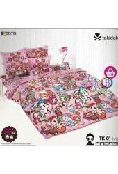 ชุดเครื่องนอนลายโทกิโดกิ Tokidoki TOTO ผ้าปูที่นอน ผ้านวม ลิขสิทธิ์แท้โตโต้ TK01