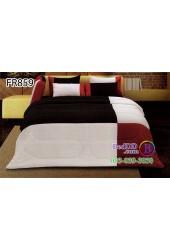 ชุดเครื่องนอนสีพื้น ดำ แดง ขาว Fair Lady Refine ผ้าปูที่นอน ผ้านวมแฟร์เลดี้ รีไฟน์ FR859