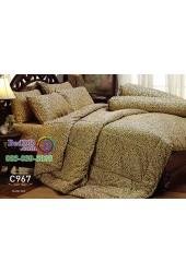 ชุดเครื่องนอนลายขนสัตว์ เสือดาว Jessica ผ้าปูที่นอน ผ้านวม Cotton 100% เจสสิก้า C967