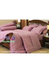 ชุดเครื่องนอนสีพื้นลาเวนเดอร์ Jessica ผ้าปูที่นอน ผ้านวมเจสสิก้า J-LAVENDER