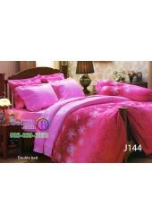 ชุดเครื่องนอนลายดอกพื้นสีชมพู Jessica ผ้าปูที่นอน ผ้านวมเจสสิก้า J144