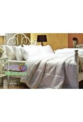 ชุดเครื่องนอนสีพื้นขาว White Jessica ผ้าปูที่นอน ผ้านวม Cotton 100% เจสสิก้า JC-WHIT