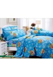 ชุดเครื่องนอนลายโพโรโระ Pororo สีฟ้า Jessica ผ้าปูที่นอน ผ้านวมเจสสิก้า PO018
