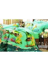 ชุดเครื่องนอนลายทิงเกอร์เบลล์ TinKer Bell สีเขียว Jessica ผ้าปูที่นอน ผ้านวมเจสสิก้า WD005