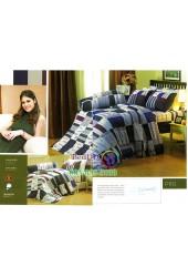 ชุดเครื่องนอนพิมพ์ลายคละสี Premier Satin ผ้าปูที่นอน ผ้านวมพรีเมียร์ ซาติน P110