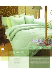 ชุดเครื่องนอนสีพื้น สีเขียว Premier Satin ผ้าปูที่นอน ผ้านวมพรีเมียร์ ซาติน SP3