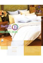 ชุดเครื่องนอนสีพื้น สีขาว Premier Satin ผ้าปูที่นอน ผ้านวมพรีเมียร์ ซาติน SP5