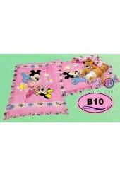 ที่นอนเด็กอ่อนลายมิกกี้เมาส์ Mickey Mouse ลิขสิทธิ์แท้ Satin เด็กเล็กซาติน B10