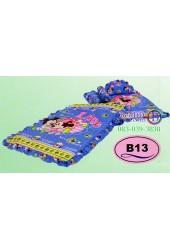 ที่นอนเด็กอ่อนลายมิกกี้เมาส์ Mickey Mouse ลิขสิทธิ์แท้ Satin เด็กเล็กซาติน B13
