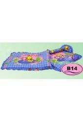 ที่นอนเด็กอ่อนลายหมีพูห์ Pooh ลิขสิทธิ์แท้ Satin เด็กเล็กซาติน B14