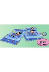 ที่นอนเด็กอ่อนลายมิกกี้เมาส์ Mickey Mouse ลิขสิทธิ์แท้ Satin เด็กเล็กซาติน B20