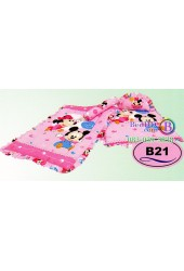 ที่นอนเด็กอ่อนลายมิกกี้เมาส์ Mickey Mouse ลิขสิทธิ์แท้ Satin เด็กเล็กซาติน B21