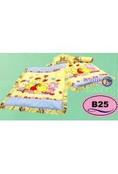 ที่นอนเด็กอ่อนลายหมีพูห์ Pooh ลิขสิทธิ์แท้ Satin เด็กเล็กซาติน B25