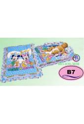 ที่นอนเด็กอ่อนลายมิกกี้เมาส์ Mickey Mouse ลิขสิทธิ์แท้ Satin เด็กเล็กซาติน B7