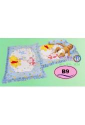 ที่นอนเด็กอ่อนลายหมีพูห์ Pooh ลิขสิทธิ์แท้ Satin เด็กเล็กซาติน B9