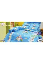 ชุดเครื่องนอนลายแมวมารี ลิขสิทธิ์แท้ Satin ผ้าปูที่นอน ผ้านวมซาติน C060