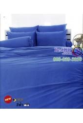 ชุดเครื่องนอนสีพื้นฟ้า TOTO ผ้าปูที่นอน ผ้านวมโตโต้ TT-BLUE