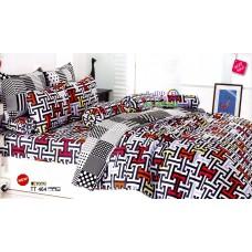 ชุดเครื่องนอนชุดเครื่องนอนลายกราฟฟิค คละสี TOTO ผ้าปูที่นอน ผ้านวมโตโต้ TT464