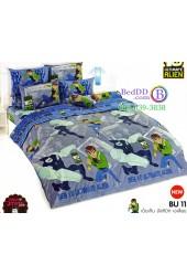 ชุดเครื่องนอนเบนเทน Ben 10 Ultimate Alien TOTO ผ้าปูที่นอน ผ้านวม ลิขสิทธิ์แท้โตโต้ BU11