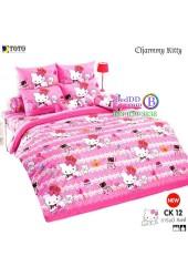 ชุดเครื่องนอนชาร์มมี่ คิตตี้ สีชมพู Charmmy Kitty TOTO ผ้าปูที่นอน ผ้านวม ลิขสิทธิ์แท้โตโต้ CK12