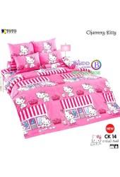 ชุดเครื่องนอนชาร์มมี่ คิตตี้ สีชมพู Charmmy Kitty TOTO ผ้าปูที่นอน ผ้านวม ลิขสิทธิ์แท้โตโต้ CK14