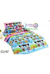 ชุดเครื่องนอนคิวตี้มิกกี้เมาส์ Disney Cuties Mickey TOTO ผ้าปูที่นอน ผ้านวม ลิขสิทธิ์แท้โตโต้ CU67
