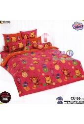 ชุดเครื่องนอนคิวตี้หมีพูห์ Disney Cuties Pooh Bear TOTO ผ้าปูที่นอน ผ้านวม ลิขสิทธิ์แท้โตโต้ CU86