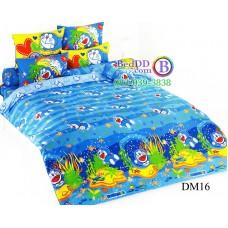 ชุดเครื่องนอนโดราเอมอน Doraemon TOTO ผ้าปูที่นอน ผ้านวม ลิขสิทธิ์แท้โตโต้ DM16