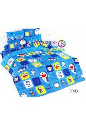 ชุดเครื่องนอนโดราเอมอน Doraemon TOTO ผ้าปูที่นอน ผ้านวม ลิขสิทธิ์แท้โตโต้ DM31