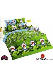 ชุดเครื่องนอนโดราเอมอน Doraemon TOTO ผ้าปูที่นอน ผ้านวม ลิขสิทธิ์แท้โตโต้ DM68