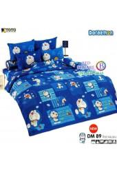 ชุดเครื่องนอนโดราเอมอน Doraemon TOTO ผ้าปูที่นอน ผ้านวม ลิขสิทธิ์แท้โตโต้ DM89