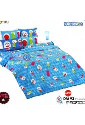 ชุดเครื่องนอนโดราเอมอน Doraemon TOTO ผ้าปูที่นอน ผ้านวม ลิขสิทธิ์แท้โตโต้ DM93