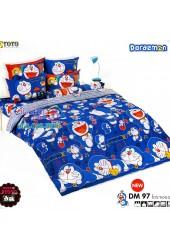 ชุดเครื่องนอนโดราเอมอน Doraemon TOTO ผ้าปูที่นอน ผ้านวม ลิขสิทธิ์แท้โตโต้ DM97