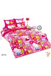 ชุดเครื่องนอนเฮลโล คิตตี้ Hello Kitty TOTO ผ้าปูที่นอน ผ้านวม ลิขสิทธิ์แท้โตโต้ KT25