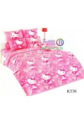 ชุดเครื่องนอนเฮลโล คิตตี้ Hello Kitty TOTO ผ้าปูที่นอน ผ้านวม ลิขสิทธิ์แท้โตโต้ KT30