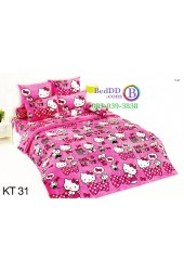 ชุดเครื่องนอนเฮลโล คิตตี้ Hello Kitty TOTO ผ้าปูที่นอน ผ้านวม ลิขสิทธิ์แท้โตโต้ KT31